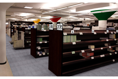 Proposed bookstore user experience